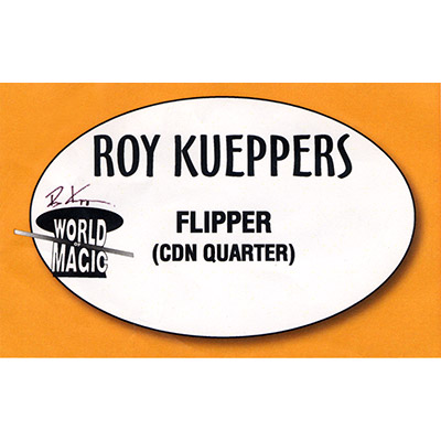 Flipper Coin - Canadian Quarter - Trick