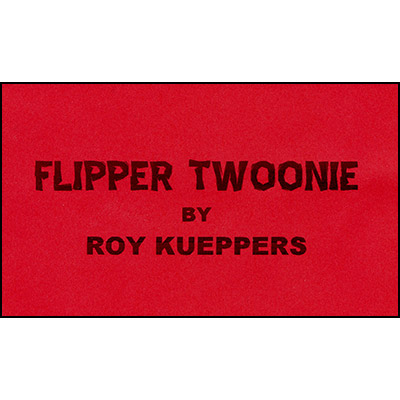 Flipper Coin - Canadian Twoonie by Roy Kueppers - Trick