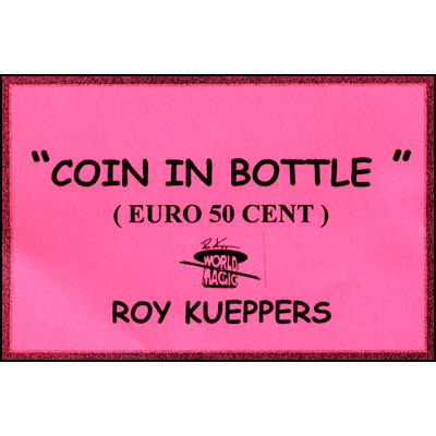 Coin In Bottle (50 Cent Euro) - Trick
