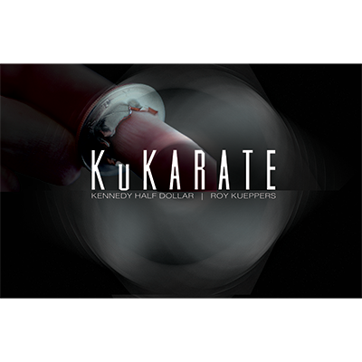 KuKarate Coin (Half Dollar) by Roy Kueppers - Trick