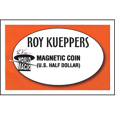 Magnetic U.S. Half Dollar - Trick