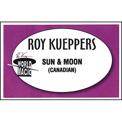 Sun & Moon Loonie/Twoonie by Roy Kueppers - Trick