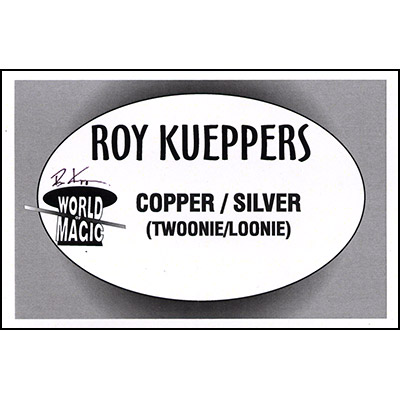Copper/Silver (Twoonie/Loonie) Coin by Roy Kueppers - Trick