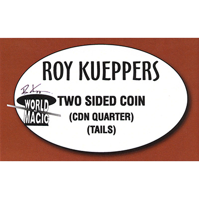 Two sided Canadian Quarter - (Tails) - Trick