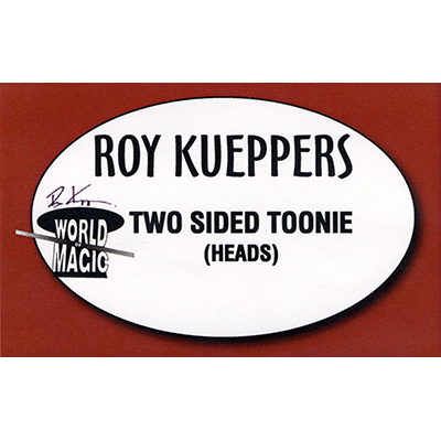 Two sided Canadian Toonie - (Heads) - Trick