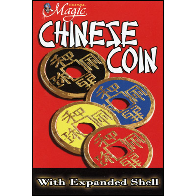 Expanded Chinese Shell w/Coin (BLACK) - Trick