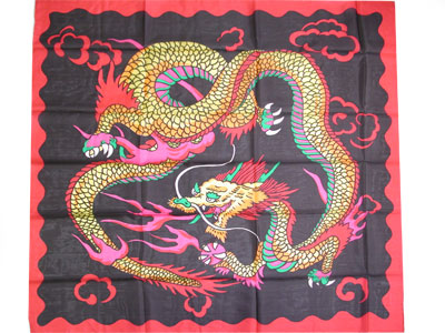 "Imperial Dragon 36"" silk Royal"