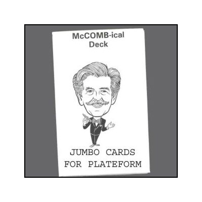 McComb-ical Deck (Jumbo) by Royal Magic - Trick