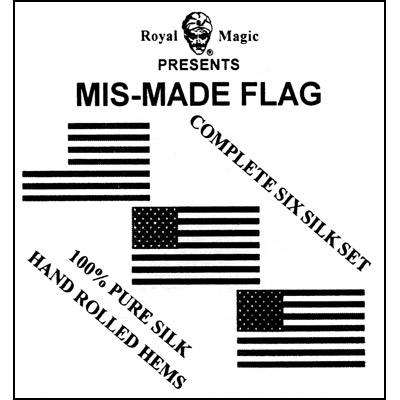 Mis-Made Flag (6 silk set) by Royal Magic