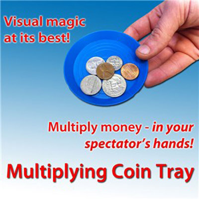 Multiplying Coin Tray by Royal Magic - Trick