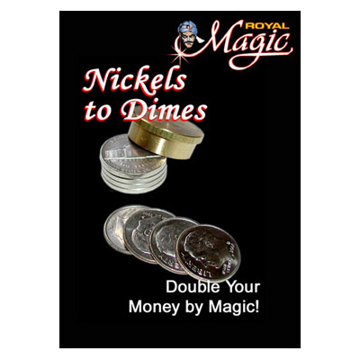Nickels to Dimes by Royal Magic - Trick