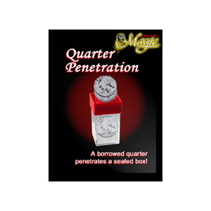 Quarter Penetration by Royal Magic - Trick