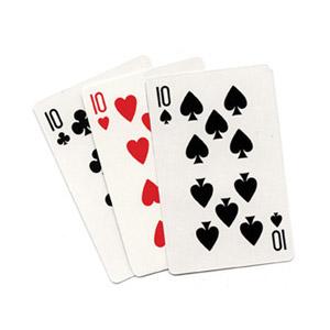 3 Card Monte (Blanco) - Royal Magic