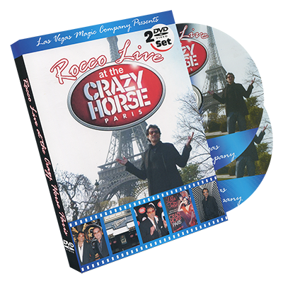 Rocco LIVE! at the Crazy Horse (2 DVD set) - Rocco - DVD
