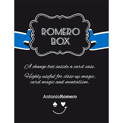 Romero Box (Blue) by Antonio Romero