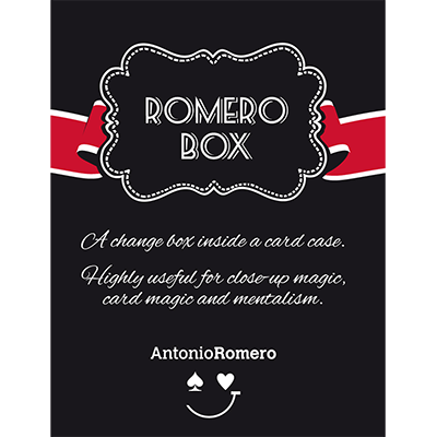 Romero Box (Red) by Antonio Romero - Trick