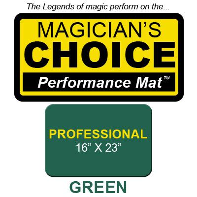 Professional Tapeta para Trucos de Magia Close-Up (VERDE - 40.5x58.5 cm) - Ronjo