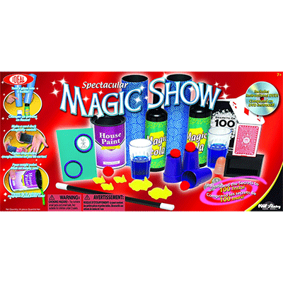 Spectacular Magic Show 100 Trick Set (0C470)