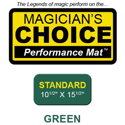 Standard Tapeta para Trucos de Magia Close-Up (VERDE - 26.5 x 39.25 cm) - Ronjo