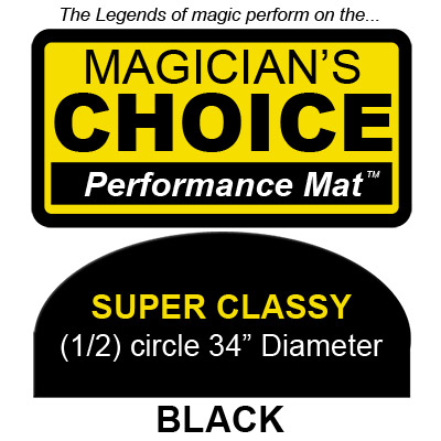 Super Classy Close-Up Mat (BLACK, 34 inch) by Ronjo