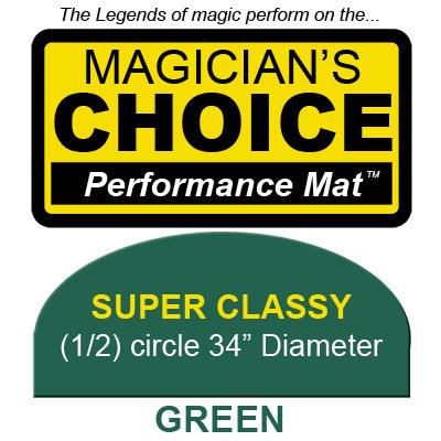 Super Tapete para Trucos de Magia Classy (VERDE - 86.25 cm) - Ronjo