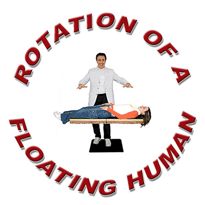 Rotation Of A Floating Human - Trick
