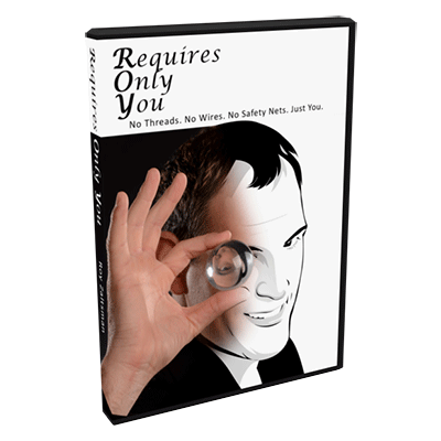 Requires Only You by Roy Zaltsman - DVD