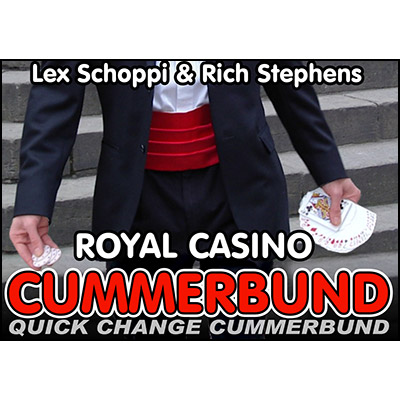 Royal Casino Cummerbund by Lex Schoppi & Rich Stephens - Trick