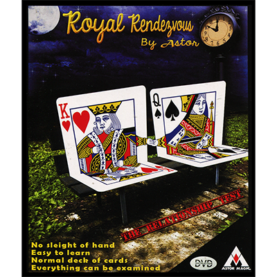 Royal Rendezvous by Astor Magic- Trick
