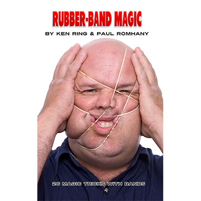 Rubber Band Magic (Pro Series Vol 11)Ken Ring and Paul Romhany - Book
