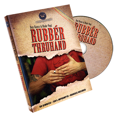 Rubber Thru hand by Dan Hauss & Blake Vogt - DVD