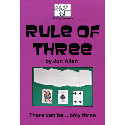 Rule of Three by Jon Allen
