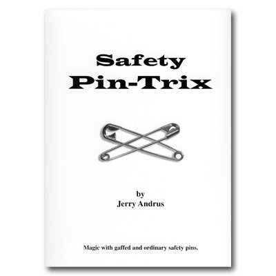 Safety Pin Trix by Jerry Andrus - Book