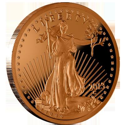 Saint Gauden Coin - Trick