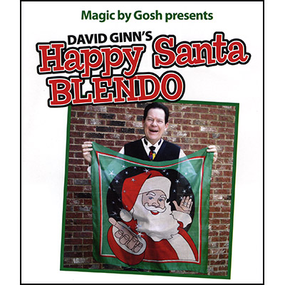 Happy Santa Blendo Set (36 inches)by David Ginn - Trick