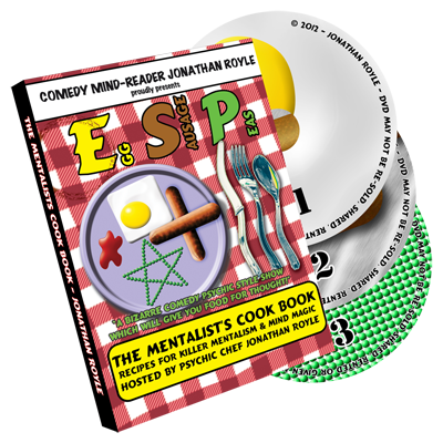 E.S.P. (Eggs, Sausage & Peas) 3 Disc Set by Jonathan Royale - DVD