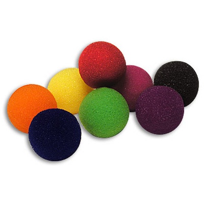 "2"" Super Soft Sponge Balls (Mixed) by Gosh - Trick"