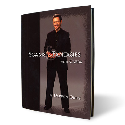 Scams and Fantasies with Cards - Darwin Ortiz - Libro de Magia
