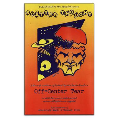 Scatter Thought Off-Center Tear - Richard Stride & Alan Wassilak - Libro de Magia