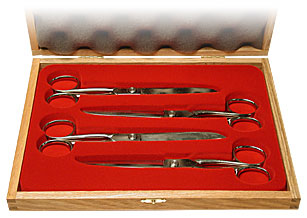 Scissor Set (4 scissors) by Bazar de Magia - Trick