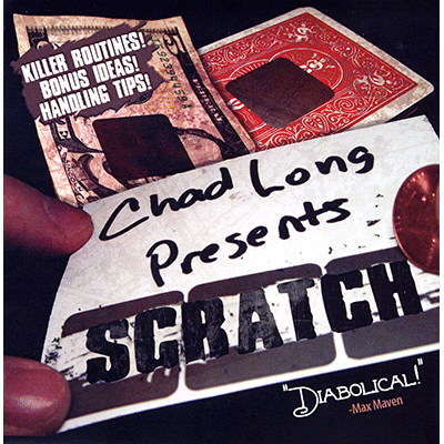 Scratch (DVD & Gimmicks) - Chad Long