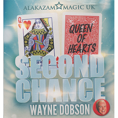 Second Chance (DVD and Gimmick) by Wayne Dobson and Alakazam Magic
