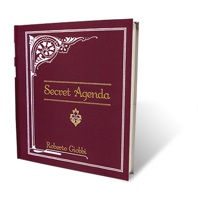 Secret Agenda by Roberto Giobbi and Hermetic Press - Book