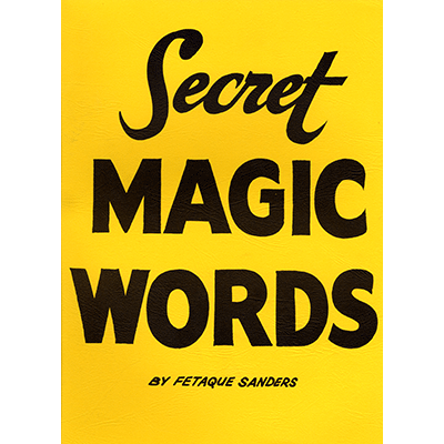 Secret Words by Fetaque Sanders - Trick