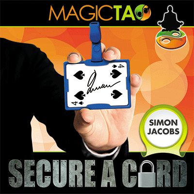 Secure A Card (Blue) by Simon Jacobs and MagicTao - Trick