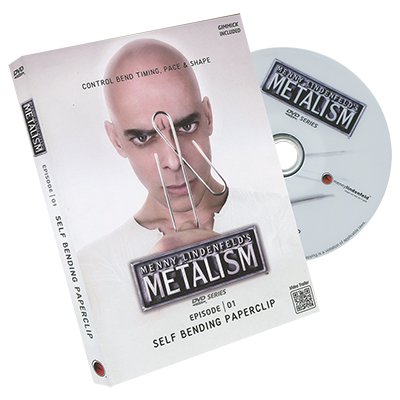 Metalism: Episode 01 - Self Bending Paperclip (DVD and Props) by Menny Lindenfeld - DVD