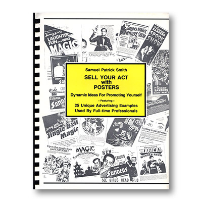 Sell Your Act with Poster by Samuel Patrick Smith  - Book