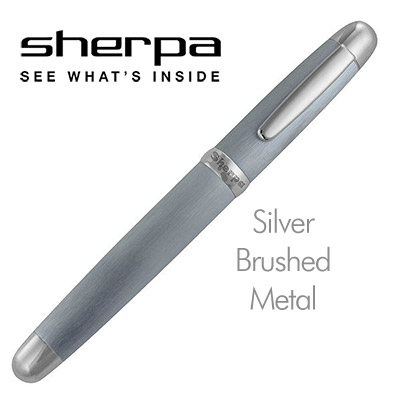 Sherpa Brushed Metal (Silver) - Trick