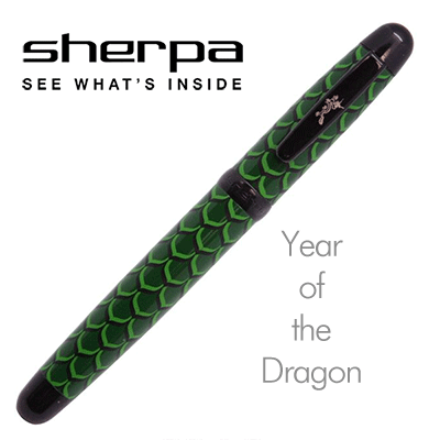 "Sherpa Limited Edition ""Year of the Dragon"" PEN ( 8888 )- Trick"