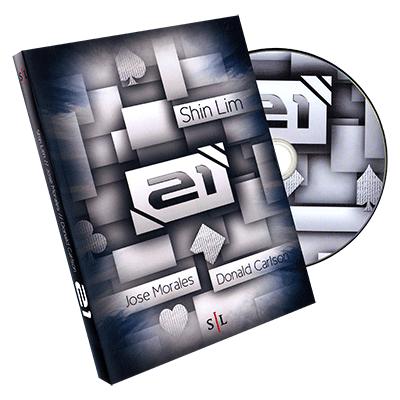 21 by Shin Lim, Donald Carlson & Jose Morales - DVD